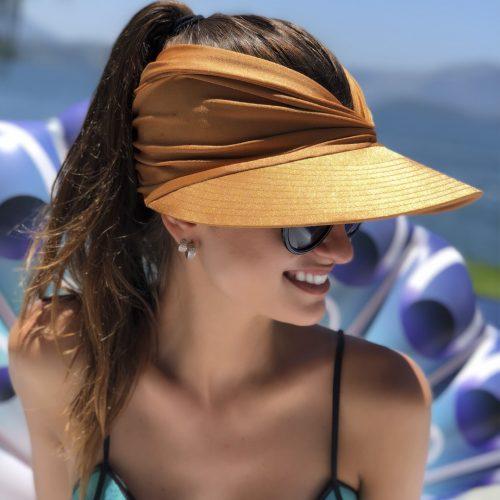 Viseira com Proteção Solar