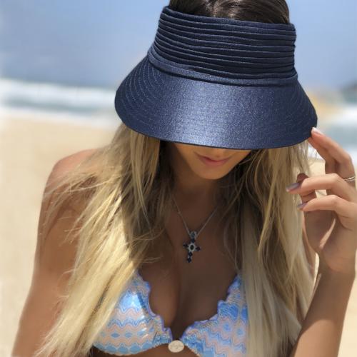 viseira de praia
